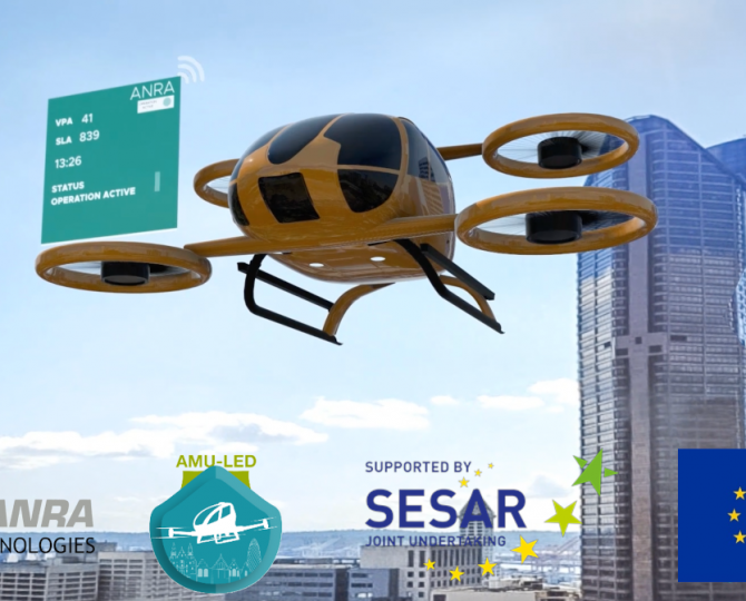 U-Space Management for Large Scale European Union Urban Air Mobility Project