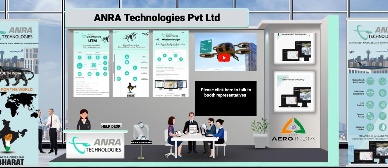 Aero India ANRA Booth